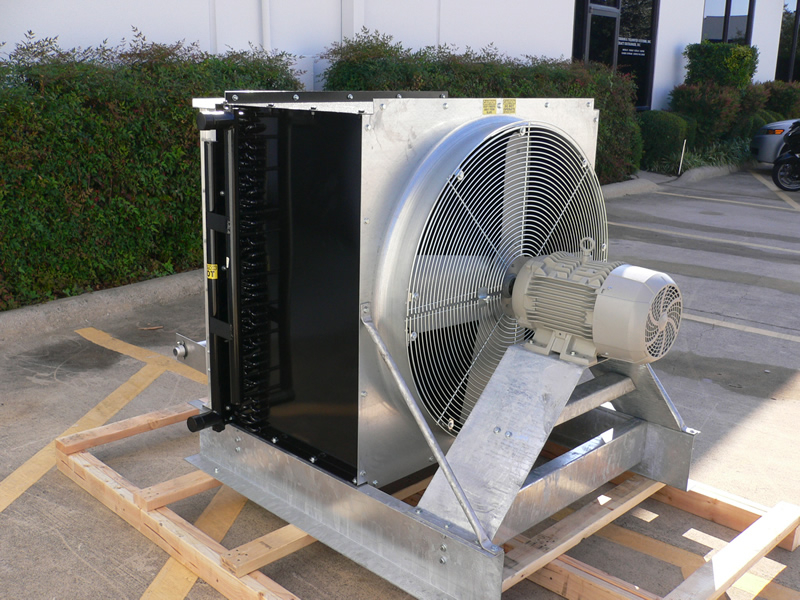 Natural Gas Aftercooler with E-Coat