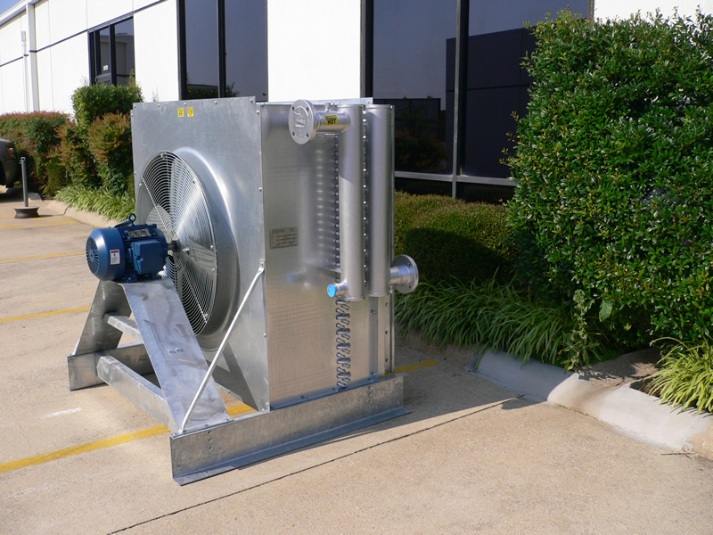 2 Stage Blower Air Cooled Heat Exchanger