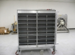Heat Exchanger with Manual Louvers